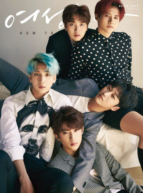 B1a4 Woman S Donga April 2017 Issue B1a4 Donga Boy Groups