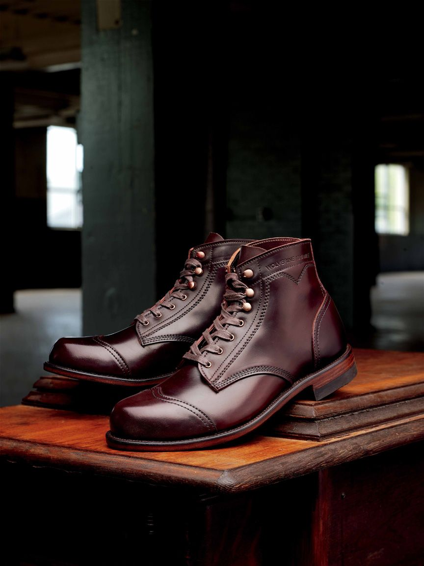 Wolverine 1000 Mile Shell Cordovan 712ltd Boots Fashion