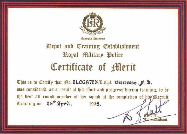 El Rector De La Universidad Complutense Madrid Certificado De - merit certificate sample