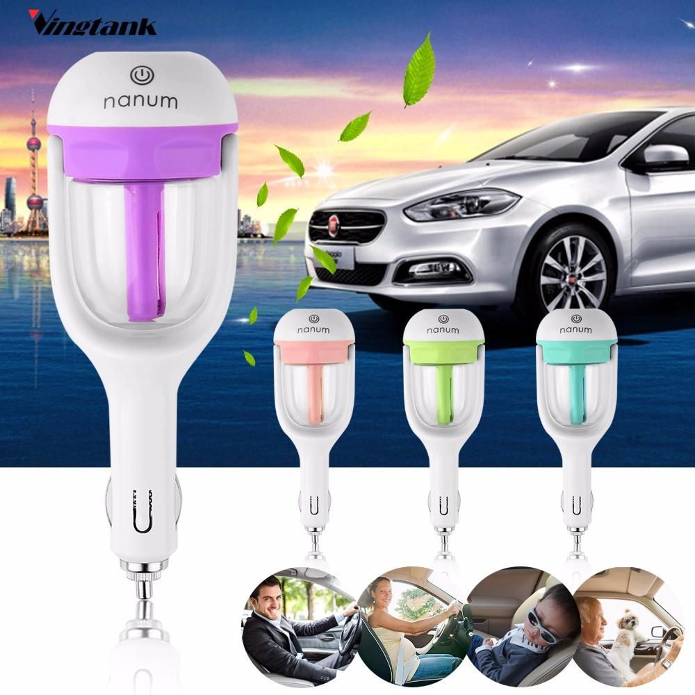 Car Air Purifier Aromatherapy Essential Oil Air Freshener