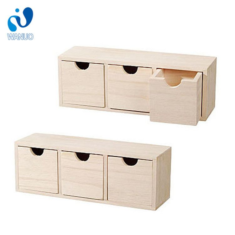 desktop new drawer small wood storage item wooden paper tray beautiful arrival ornament drawers in box