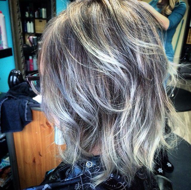 grey hair and lovin