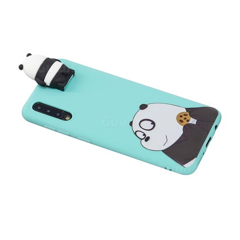 Striped Bear Soft 3D Climbing Doll Stand Soft Case for Samsung Galaxy A50 - Galaxy A50 Cases - Guuds