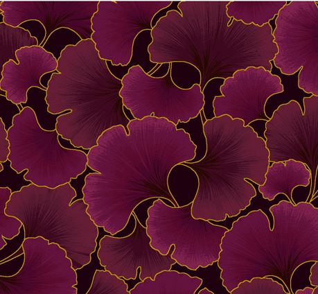 <3 these ginkgo tonals in so many colorways from Kona Bay