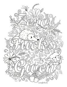 The Sweary Coloring Book