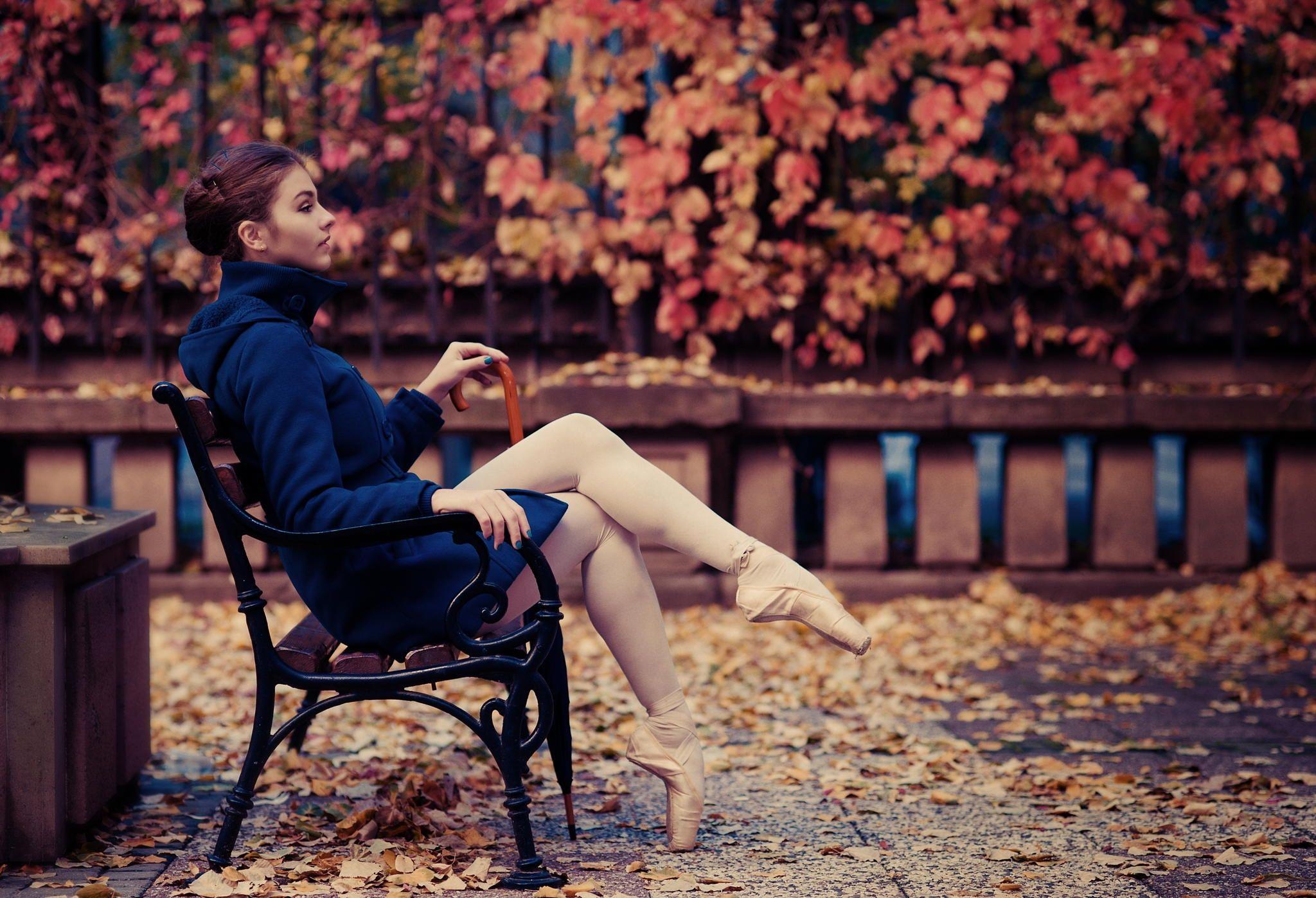 Autumn ballerina - See more on  www.facebook.com/urb.butterflies