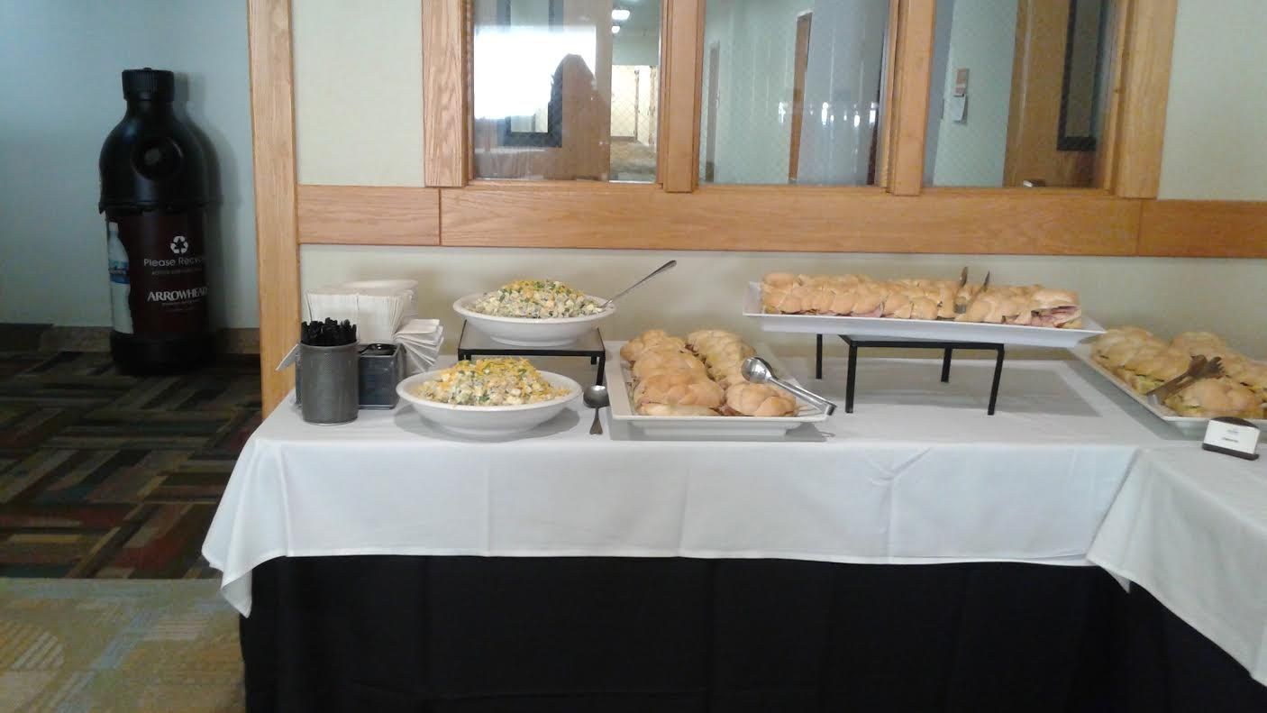 Simple buffet. Catered by Chartwells at Idaho State ...