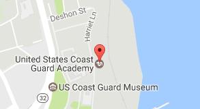Map Of United States Coast Guard Academy Stuff To Buy - Us coast guard maps