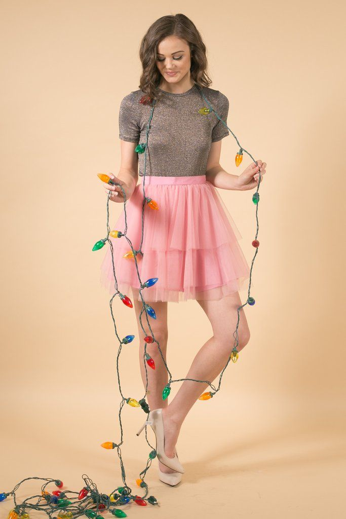 The Soft Carrie - Vintage Pink 18, mini tulle skirt, Space 46 tulle ...