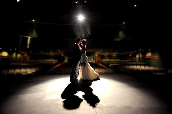 When You Have Your First Dance Together Remember The Spotlight Is Just On And