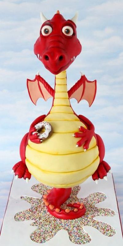 Le Gravity Cake Dragon #gravitycake