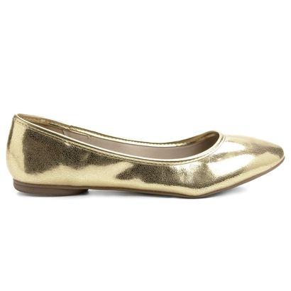 Compre Sapatilha Renata Mello Bico Redondo Dourado na Zattini a nova loja de moda online da Netshoes. Encontre Sapatos, Sandálias, Bolsas e Acessórios. Clique e Confira!