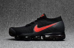 f12cab2ae8 Hearty Nikelab Air Vapormax Flyknit 2018 Red Pure Platinum Black 849558 060  Women's Men's Athletic Running