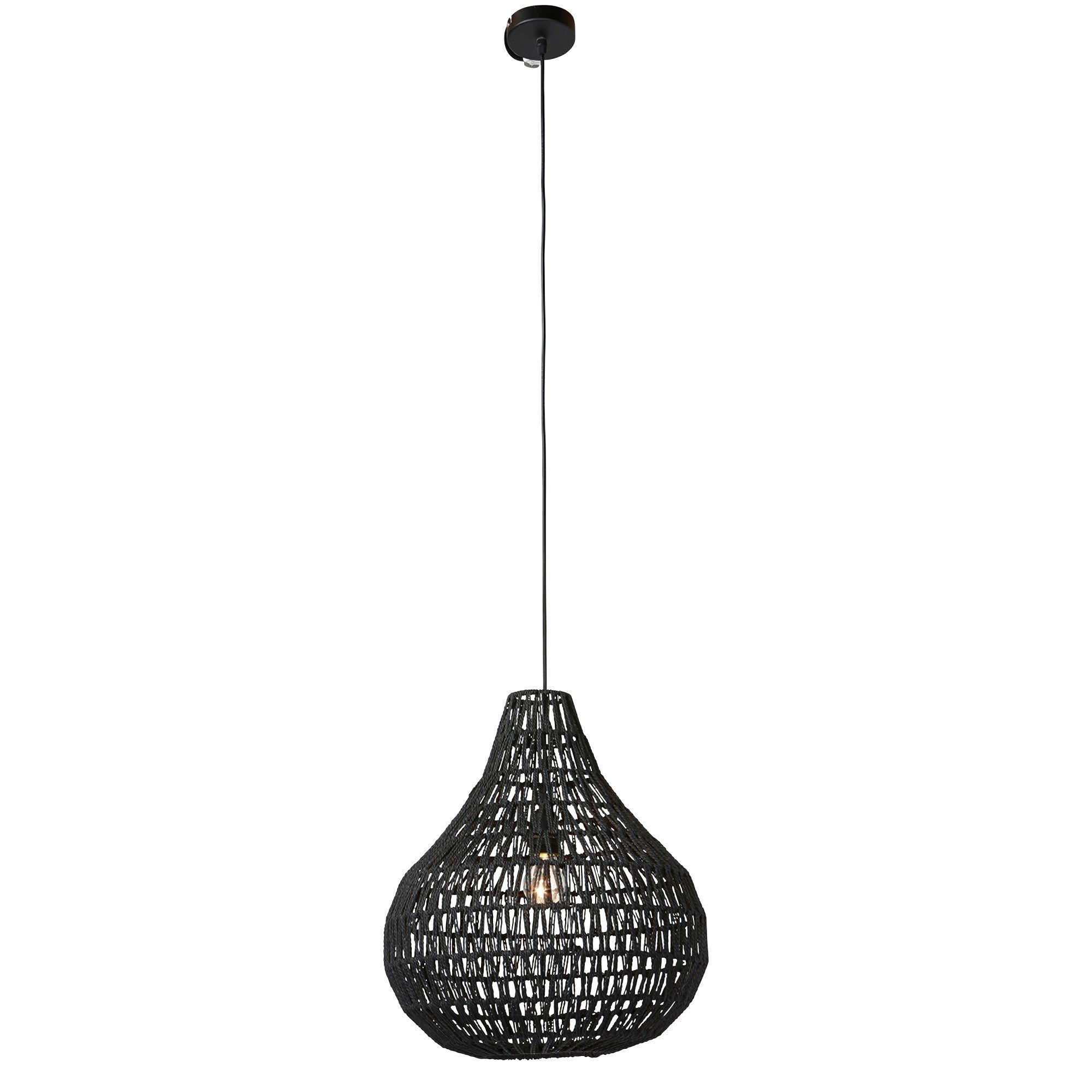 Hanglamp Rana Zwart Kwantum Hanglamp Lampen Tafel Verlichting