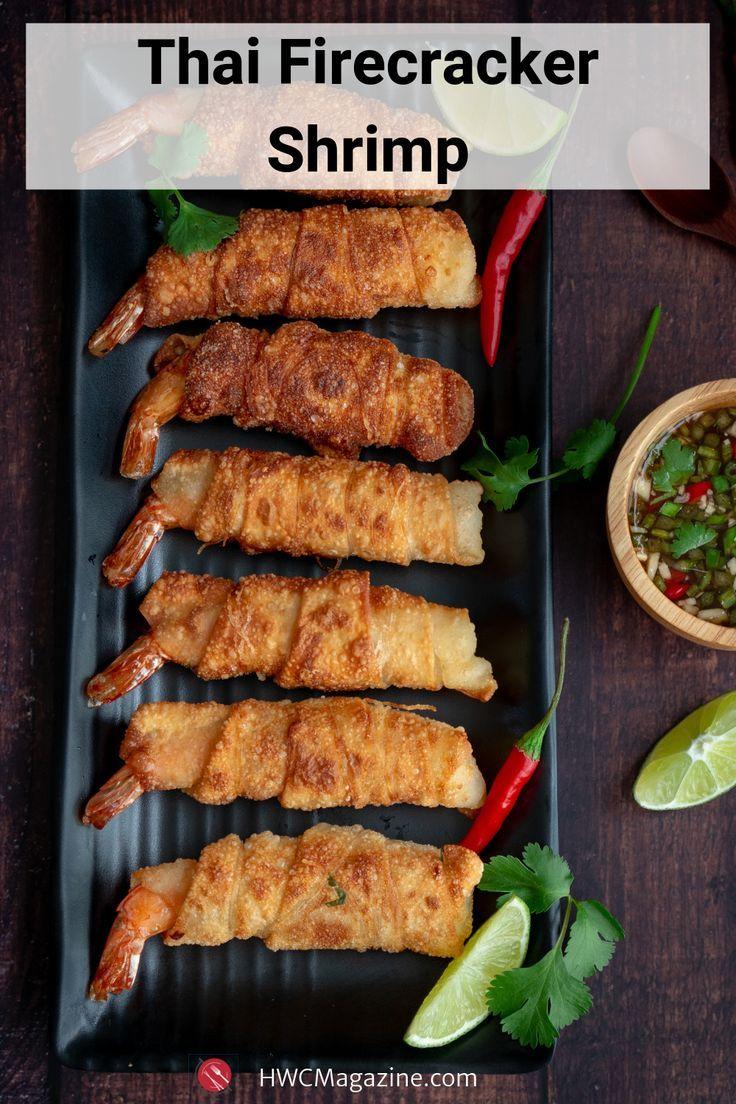Thai Firecracker Shrimp Party Appetizer – Healthy World Cuisine