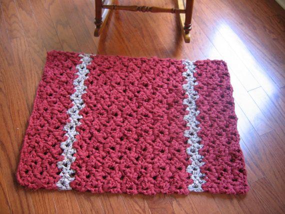 Versatile Rag Crochet Rug Pattern by RaggedyAnns on Etsy