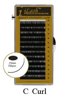 ea18185f39f iLash Ellipse Flat Lash - Mixed 8-15mm Length Tray - C Curl $19.99 -  iLashstore.com