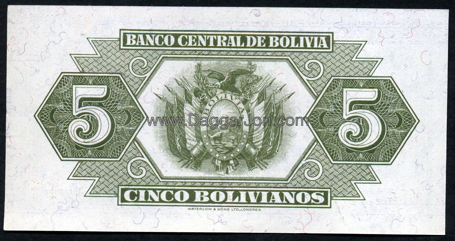 The Currency In Bolivia Is Called Boliviano 1 Us Dollar Equals 7 44915 Bolivian Dollars V