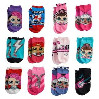 6a84a6811 Girls 4-16 JoJo Siwa 6-pk No-Show Socks in 2019