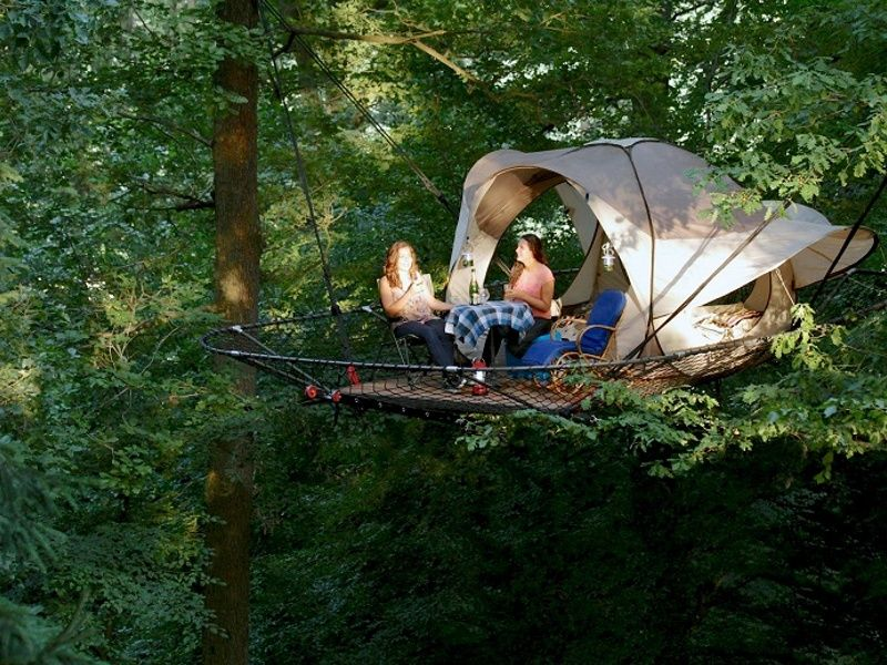 treehouse tents - Google Search & treehouse tents - Google Search | Treehouses | Pinterest | Tree ...