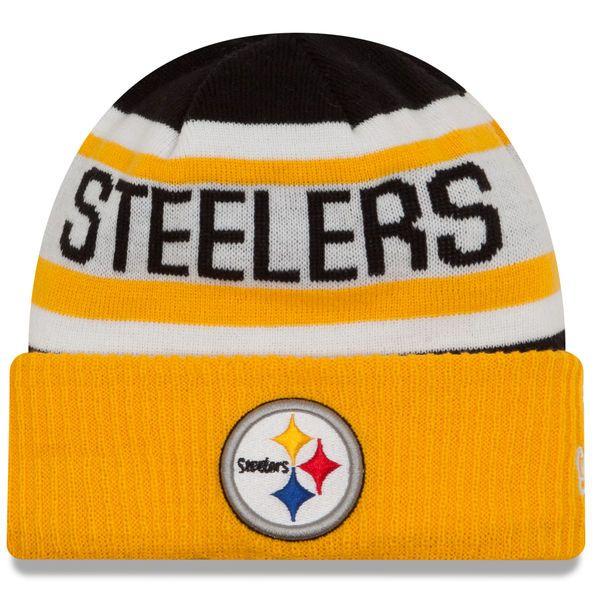 f59152586ef997 ... sale pittsburgh steelers new era biggest fan 2.0 cuffed knit hat black  gold 22.99 982d3 ea67d