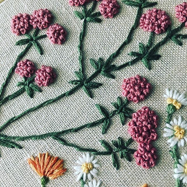 French Knots Pinterest French Knots Embroidery And