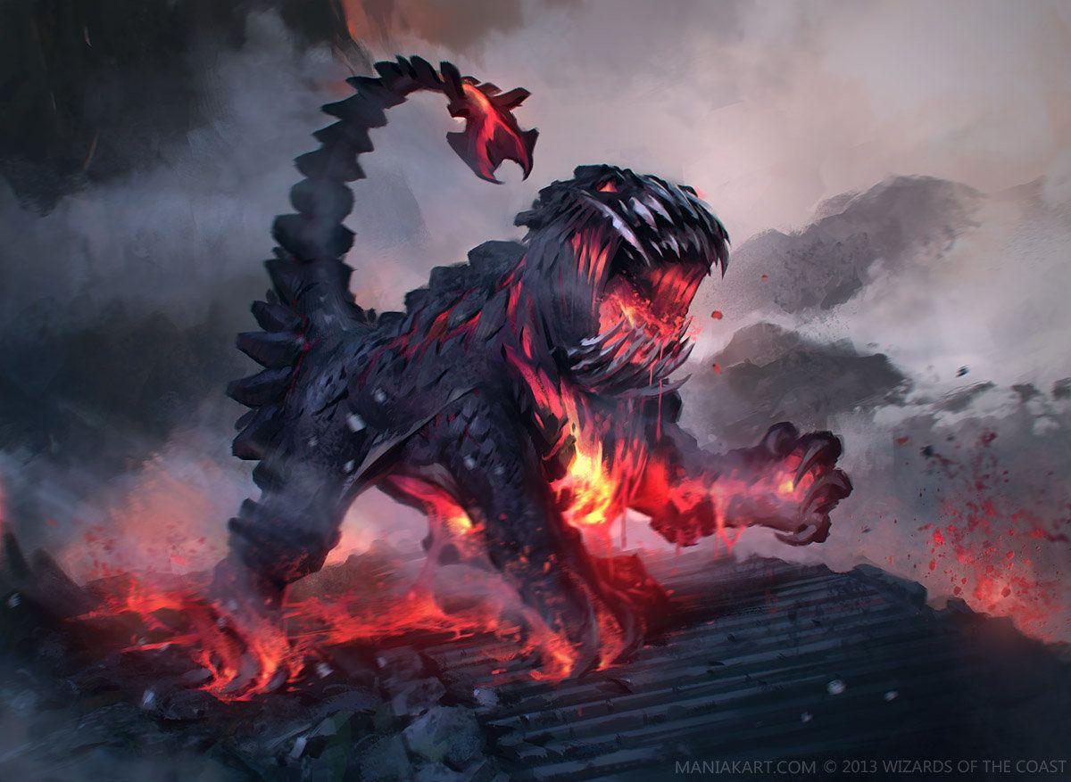 Molten Beast, Sławomir Maniak on ArtStation at http://www.artstation.com/artwork/molten-beast