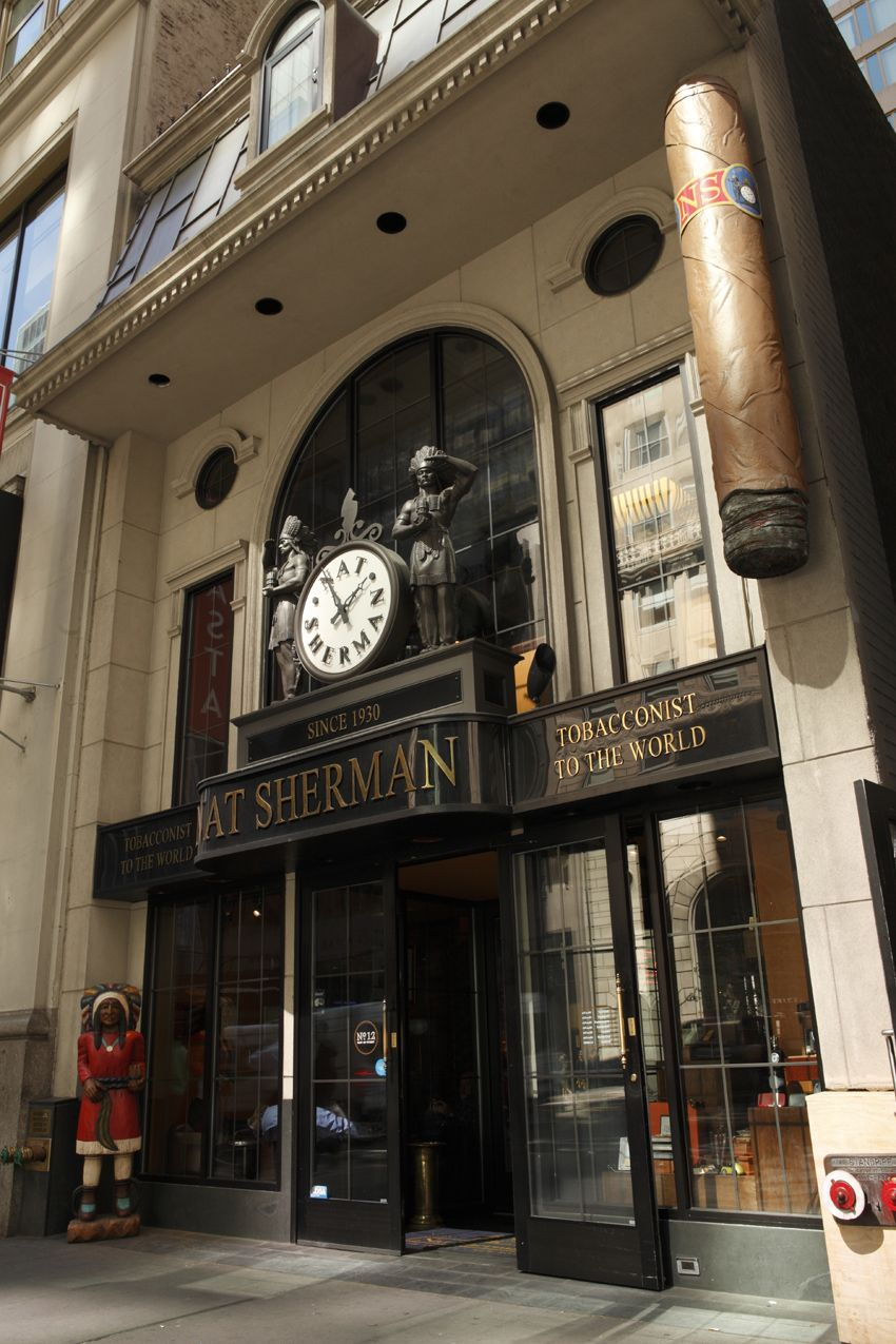 Exterior Of The Nat Sherman Townhouse On 42nd Street In