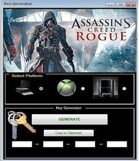 assassins creed rogue activation code crack