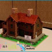 Wendover - Log Cabin cake