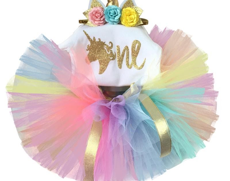 Buy Online Newborn Baby Girl 1st Birthday Outfits Infant Clothing Sets One Year RomperFancy Tutu SkirtHeadband Suits Gift