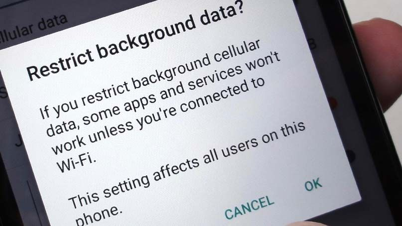 How To Restrict Background Data On Samsung Galaxy S20 Mobile Data Galaxy Wifi Service