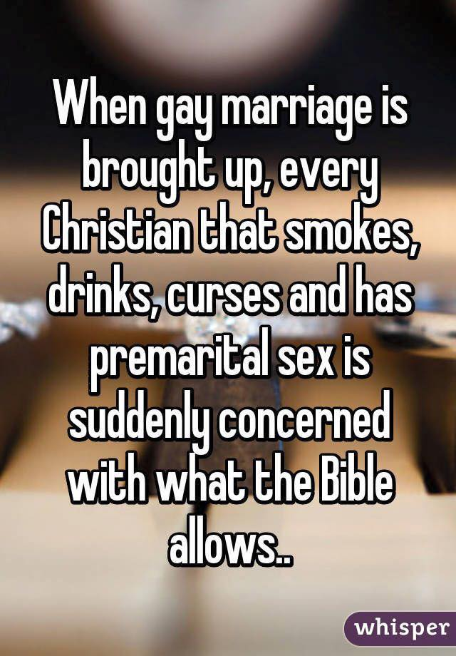 The hypocrites of homosexuality and christianity