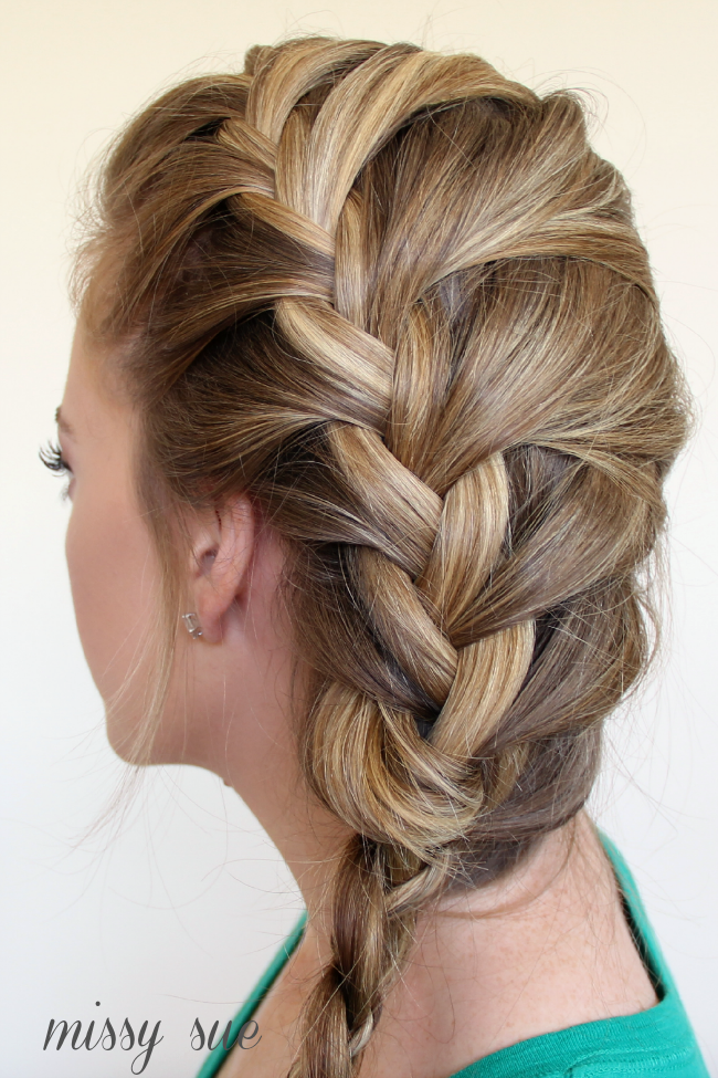 Braid 12 french braid and four strand side braid for your hairs braid 12 french braid and four strand side braid ccuart Images