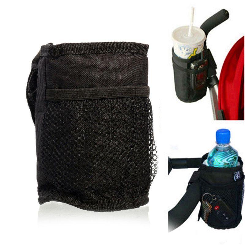 الاكسسوارات طفل عربة عربة طفل معزول مفاتيح الهاتف حامل حامل الشراب كوب ماء زجاجة حامل المنظم Stroller Cup Holder Stroller Organizer Bag Stroller Accessories