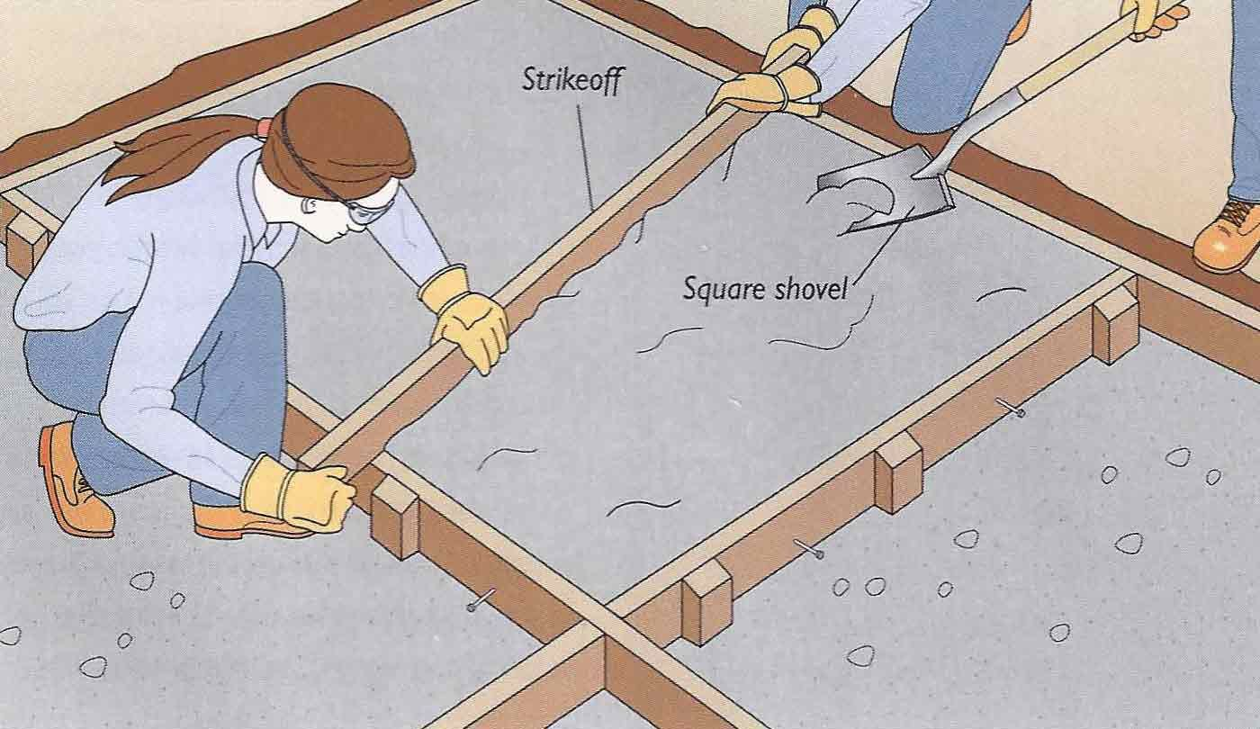 Attractive How To Build DIY Concrete Patio In 8 Easy Steps