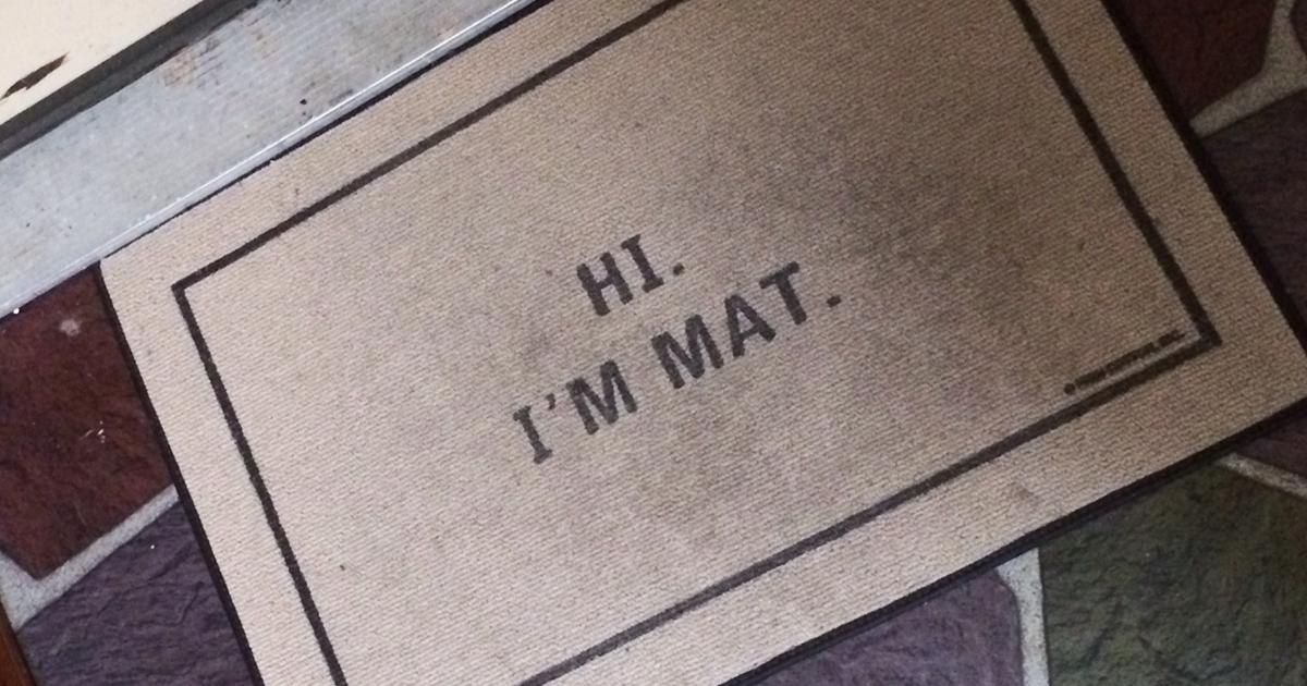 48 Creative And Hilarious Doormats That Will Make You Look Twice Funny Doormats Door Mat Door Mat Diy