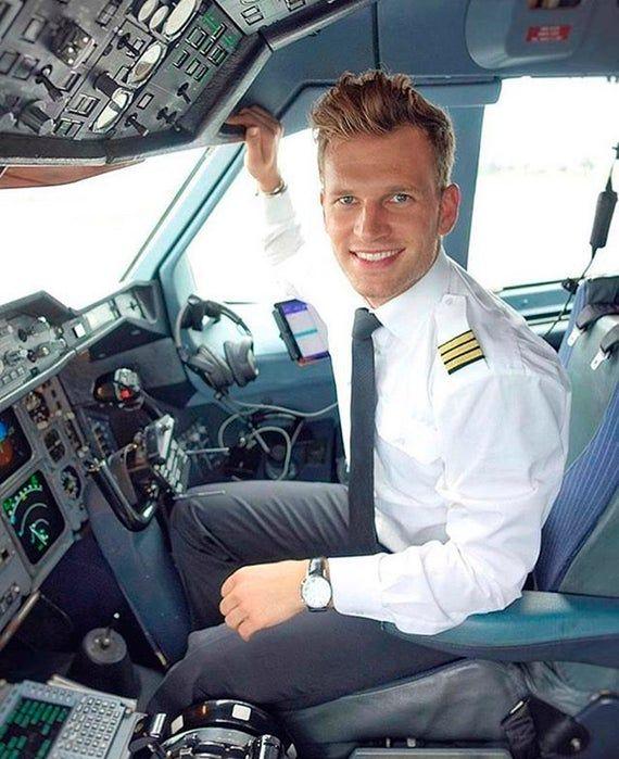 PERSONALIZED PILOT PORTRAIT painting, Pilot gifts