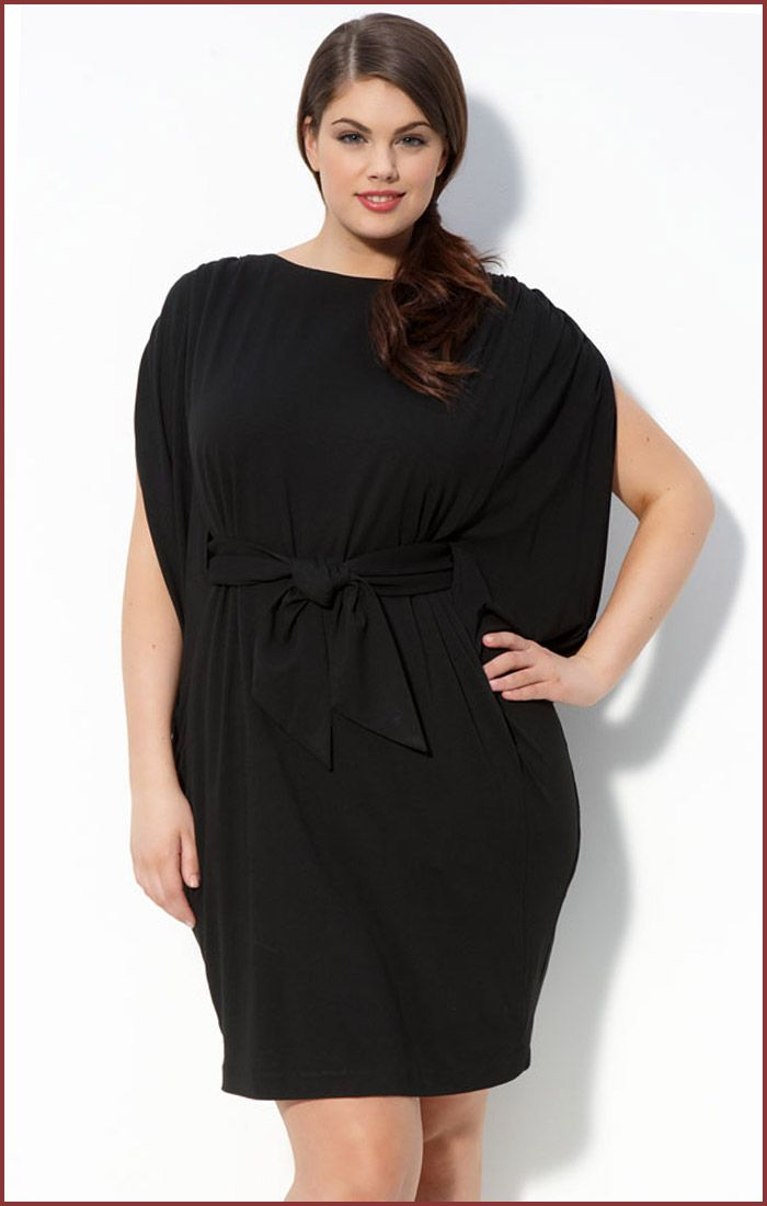 Chin Maggy Boutique Black Knit Dress For Plus Size Knitted Dresses