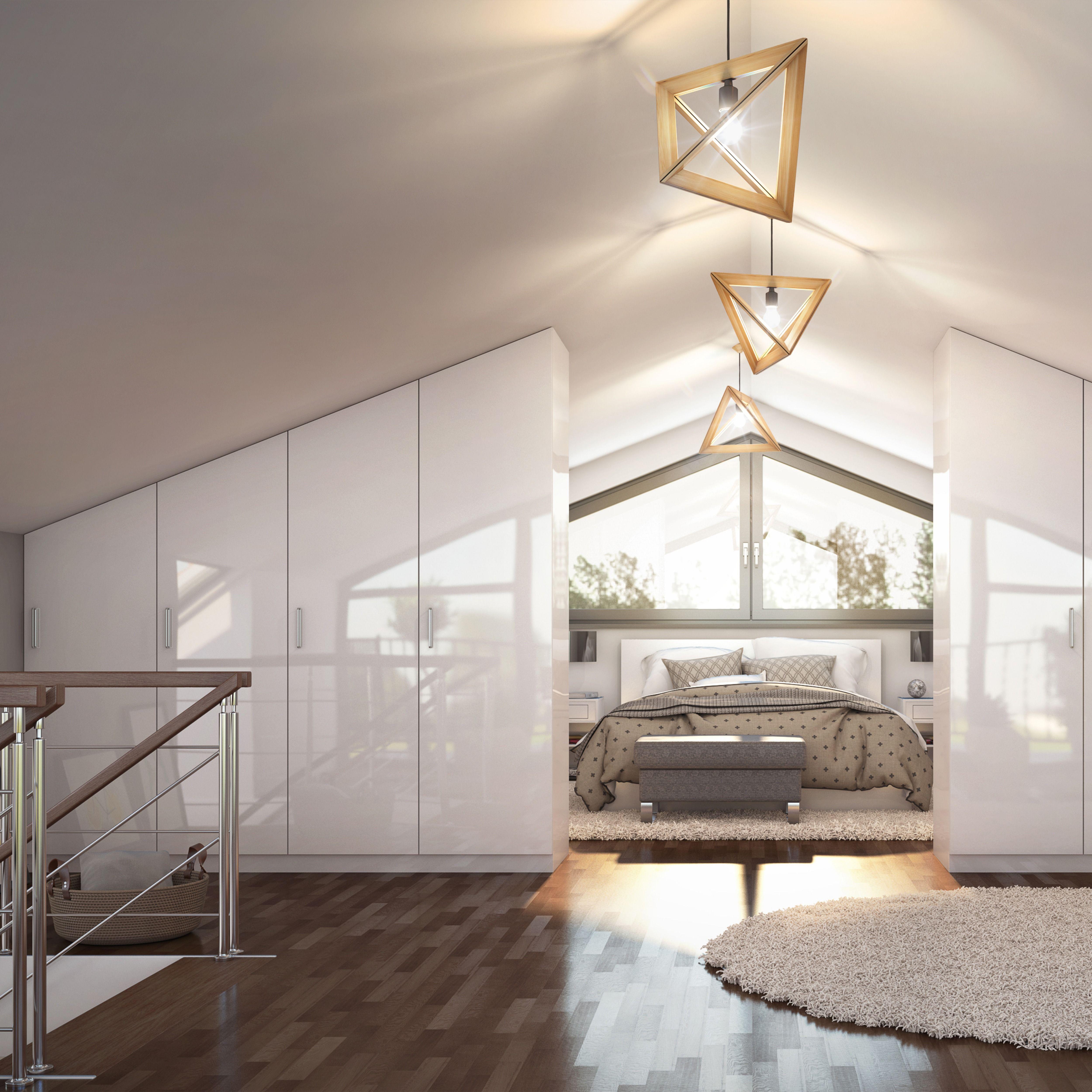 Photo of Dachgeschoss als Schlaf- und Ankleidezimmer