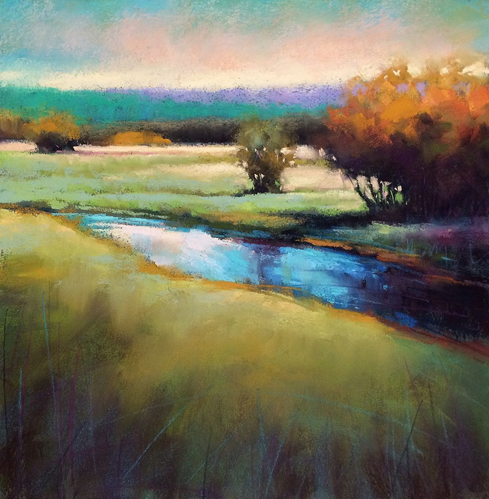 Marla Baggetta Pastel Paintings Art Workshops Landscape 1 Pastel Landscape Abstract Landscape Pastel Artwork