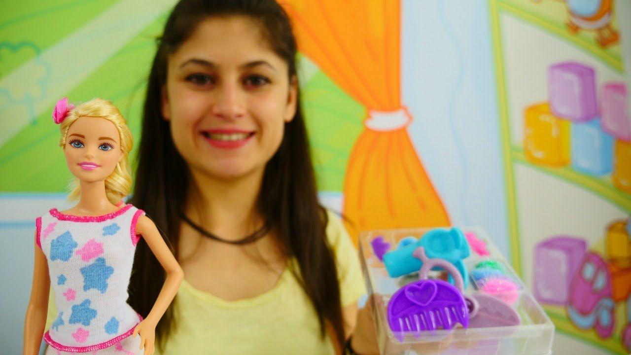 Ayse Barbie Kuafor Setiyle Oynuyor Kiz Oyunu Kizvizviz Da Barbie Oyunu Oyna Barbie Kizlar Kuaforler