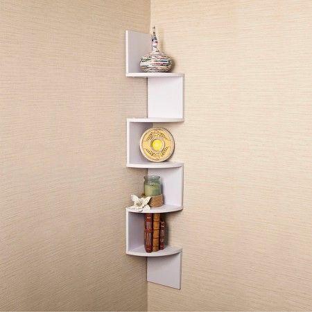 Living Room Large Corner Shelf 34 At Target Mdf Estante De