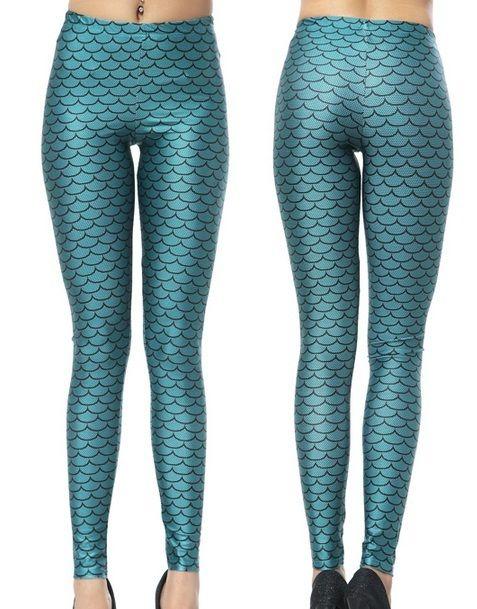 Mermaid Scale Leggings. Size S/M or M/L