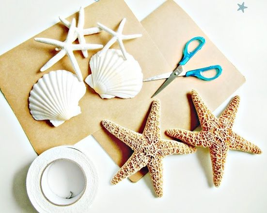 Cuadros con conchas de mar diy decoraci n sea shell for Decoracion con cuadros
