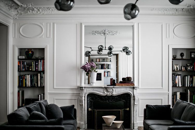 Pin by Khrystina Nicole on Millwork | Pinterest | Living rooms ...