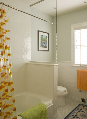 small bathroom toilet shower divider like the glass instead of rh pinterest com