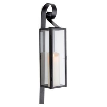 Indoor/Outdoor Lantern Sconce | Candle wall sconces ...