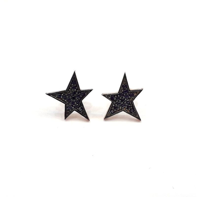 925 Sterling Silver Celestial Star Earrings 0A7sZ