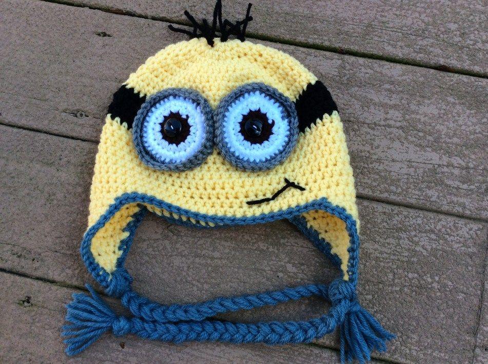 Minion Crochet Pattern Crochet Minion Hat Yarnover The Moon Online Store Powered #minioncrochetpatterns
